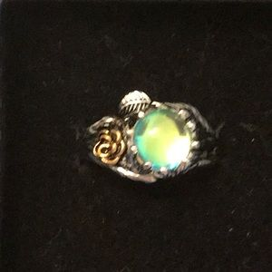 Jewelry - Moonstone Twig & Rise ring 925 stamped size 8
